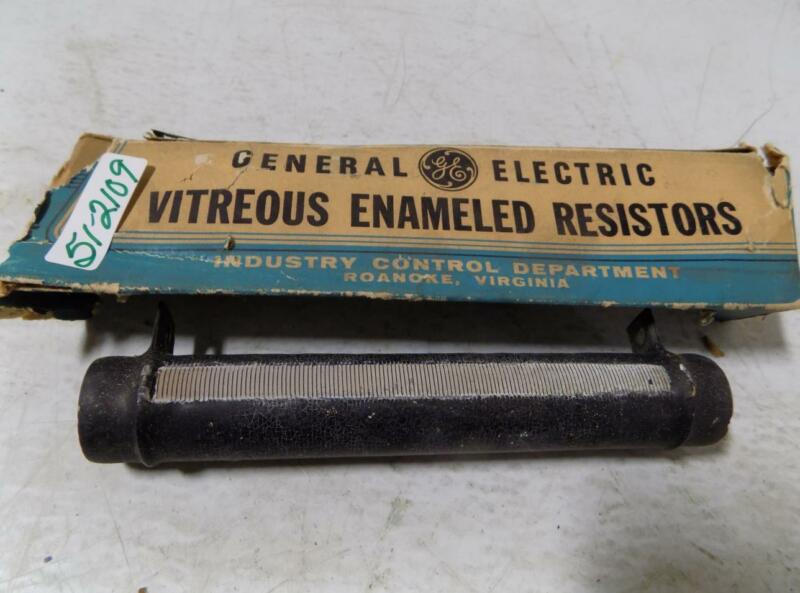GENERAL ELECTRIC VITREOUS ENAMELED RESISTOR