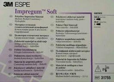 Impregum Soft 3m Espe Handmix Double Pack 31755 Impression Material