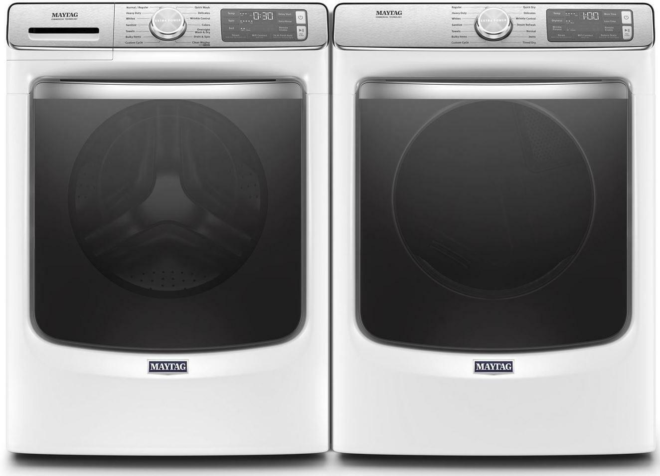 Maytag MHW8630HW 5 cu. ft. Front Load Washer and MED8630HW E