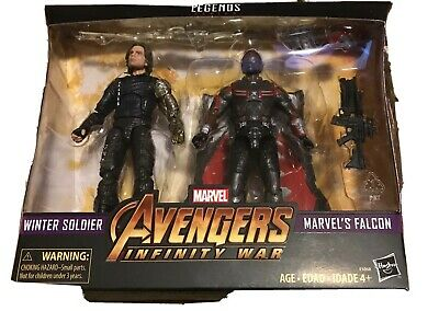 Marvel Legends Avengers Infinity War-Winter Soldier&Marvel's Falcon-Target Exclu