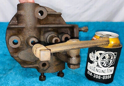 Original Head 1 34 Hp Associated Chore Boy United Hit Miss Gas Engine Antique