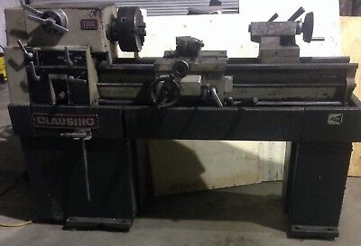 Clausing Model 1300 Engine Lathe 13 X 36 With Taper Attachment