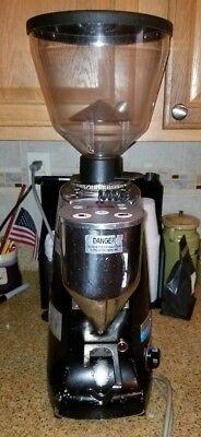 Mazzer Kony Electronic Espresso Coffee Bean Grinder Black