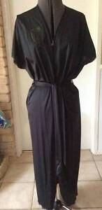 Vintage 1980 Black Nylon Negligee - AS NEW Greenwood Joondalup Area Preview