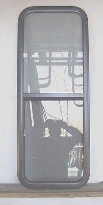 Black 18 X 48  RV Slider Window Camper Cabin Tinyhouse Trailer Enclosed Horse for sale  Hudson