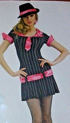 GANGSTA GIRL COSTUME Teen/Womens XS-GANGSTER BONNIE - Bonnie And Clyde Costume