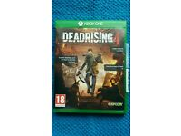Dead rising 4 for xbox one in mint condition