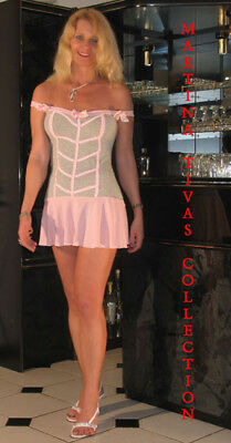 Minikleid Babydoll Shirtkleid Kleid Sommerkleid Größenwahl S - M D08