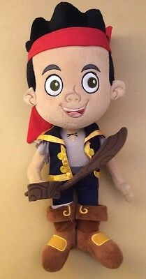 "Disney Parks 13"" Jake and the Neverland Pirates Stuffed Plush Toy ""C"""