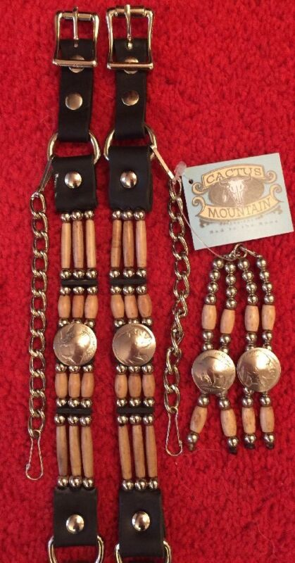Boot Straps & Boot Bolos Handmade In The USA!!  Western Biker Cowboy Cowgirl