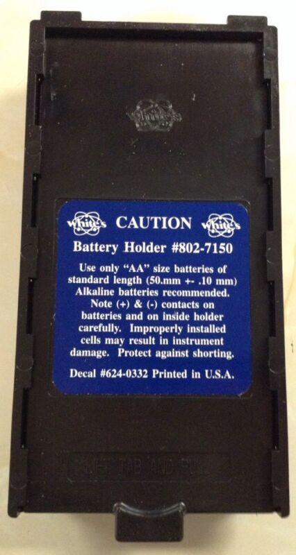 Whites Metal Detector Battery Holder NEW mxt dfx xlt vx3 v3i + more  #802-7150.
