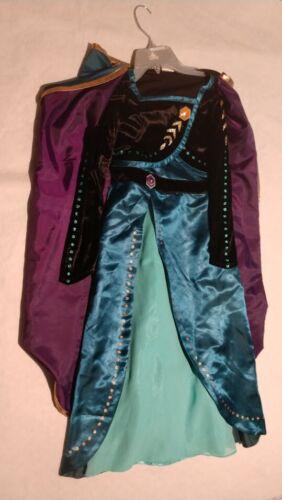 NWT Disney Store Frozen II Anna Coronation Costume Girls 7/8