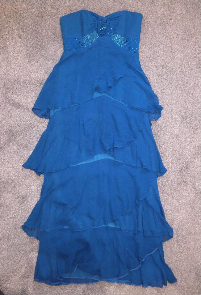 Teal size 8 dress