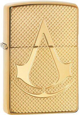 Zippo Choice Armor Assassin's Creed WindProof Lighter High Polish Brass 29519