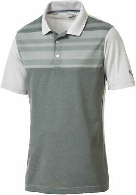 New Puma Golf Crossings DryCell Polo Shirt - L Large - Laurel wreath