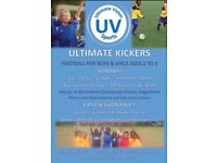 ULTIMATE KICKERS - FOOTBALL FOR 18 MONTHS - 5 YEARS **FIRST SESSION FREE**