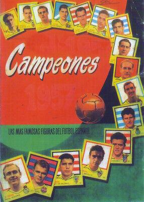 ALBUM CROMOS FUTBOL 56-57 BRUGUERA FACSIMIL COMPLETO Y NUEVO