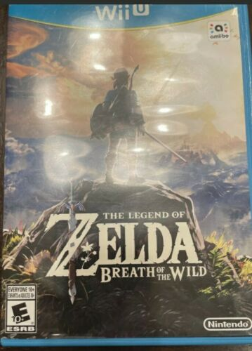 The Legend Of Zelda Breath Of The Wild Wii U, 2017  - $18.20