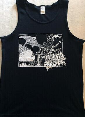 MORBID ANGEL Tank Top shirt BLACK DEATH METAL IMMOLATION MAYHEM DISMEMBER S - XL Black Metal Tank Top Shirt