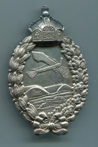 Imperial German World War I Prussian Aviator Pilot Badge