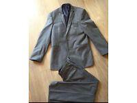 Men's Burton grey suit