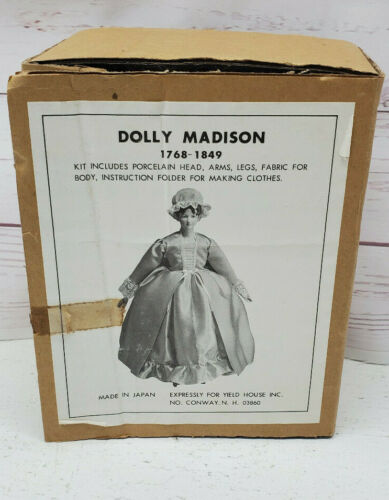 Yield House Dolly Madison Doll Making Kit No A-18