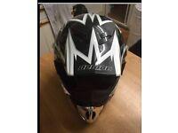 Demon Moto-x helmet large as new