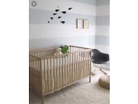 Ikea Sniglar wood cot