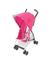 Maclaren Mark II Buggy Pram Brand New Pink Pram
