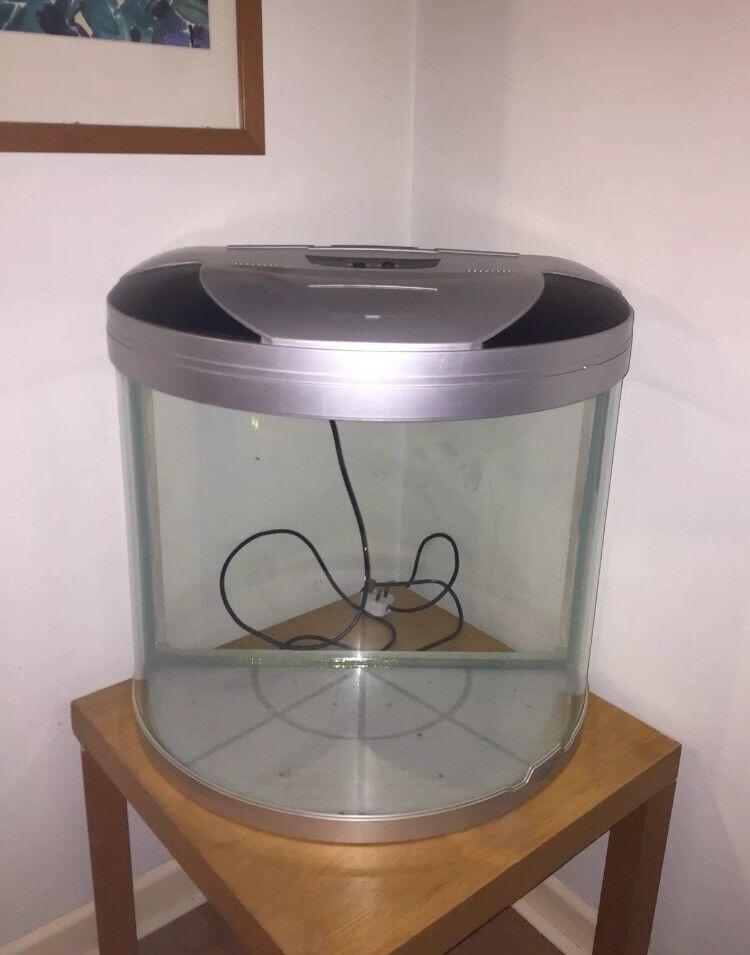 Aquamode 600 Bow Front Fish Tank Aquarium
