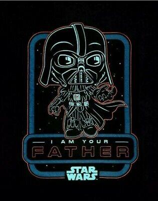 Funko Pop! Star Wars Smuggler's Bounty Darth Vader I Am Your Father T-Shirt Med.