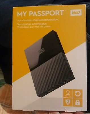 External hard drive wd my passport