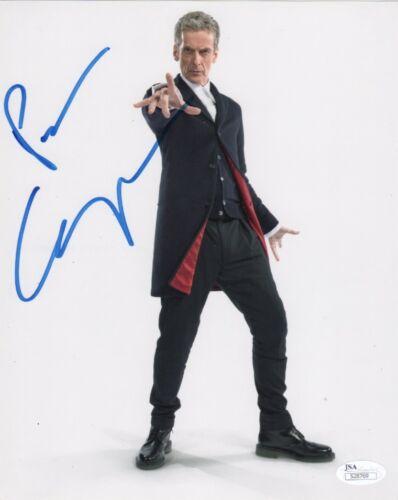 Peter Capaldi Doctor Who Autographed Signed 8x10 Photo JSA COA #14