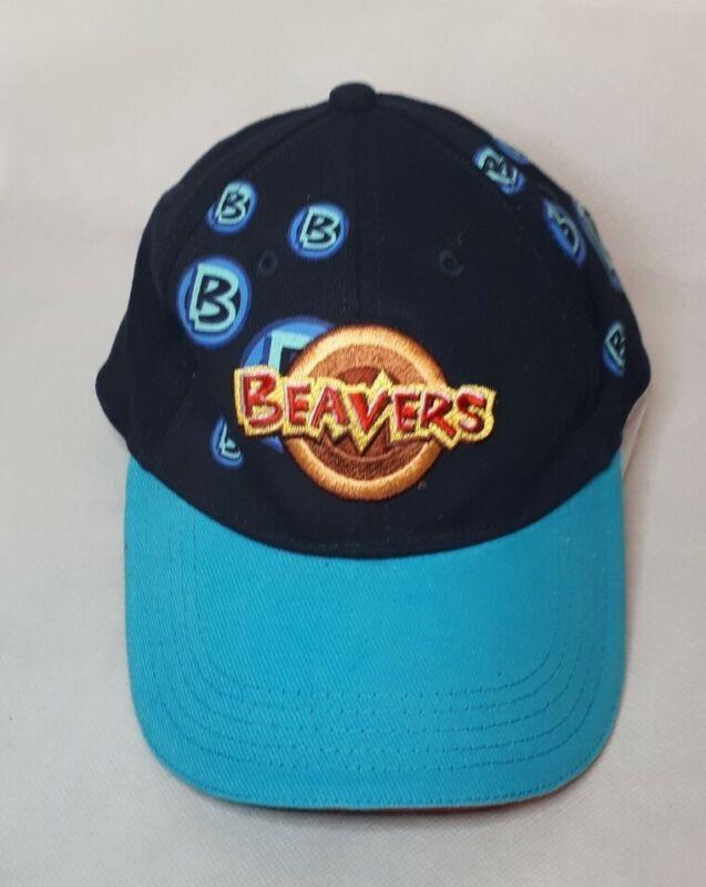 Scouts United Kingdom Beavers Blue Adjustable Metal Back Baseball Cap Hat