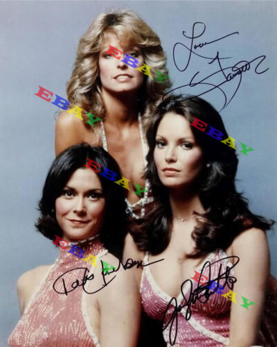 Charlies Angels  Cast AUTOGRAPHED Signed 8x10 Photo REPRINT