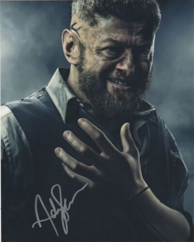 Andy Serkis Black Panther Autographed Signed 8x10 Photo COA #S9