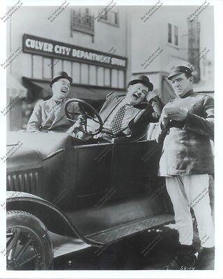 8x10 reprint still 'Leave 'Em Laughing' (1928) Laurel & Hardy Edgar Kennedy