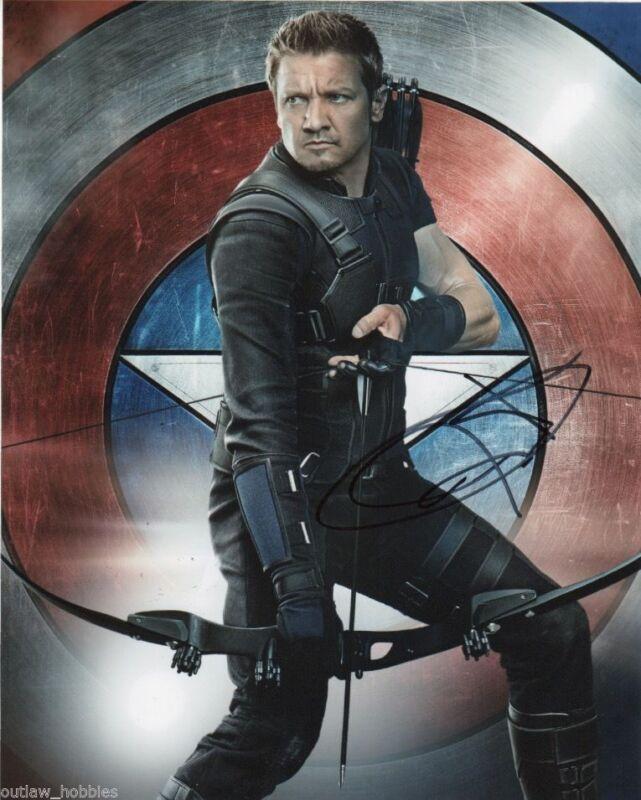 Jeremy Renner Avengers Autographed Signed 8x10 Photo COA #5