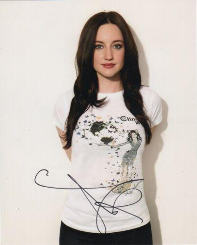 Andrea Riseborough Sexy Autographed Signed 8x10 Photo COA #S1