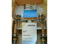 New Bristan high neck taps.