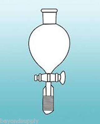 Lab Glass Globe Shaped Shape Separatory Separation Funnel 500ml 2440 New
