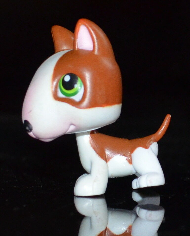 Lps littlest petshop dog pit bull / chien bull terrier 154