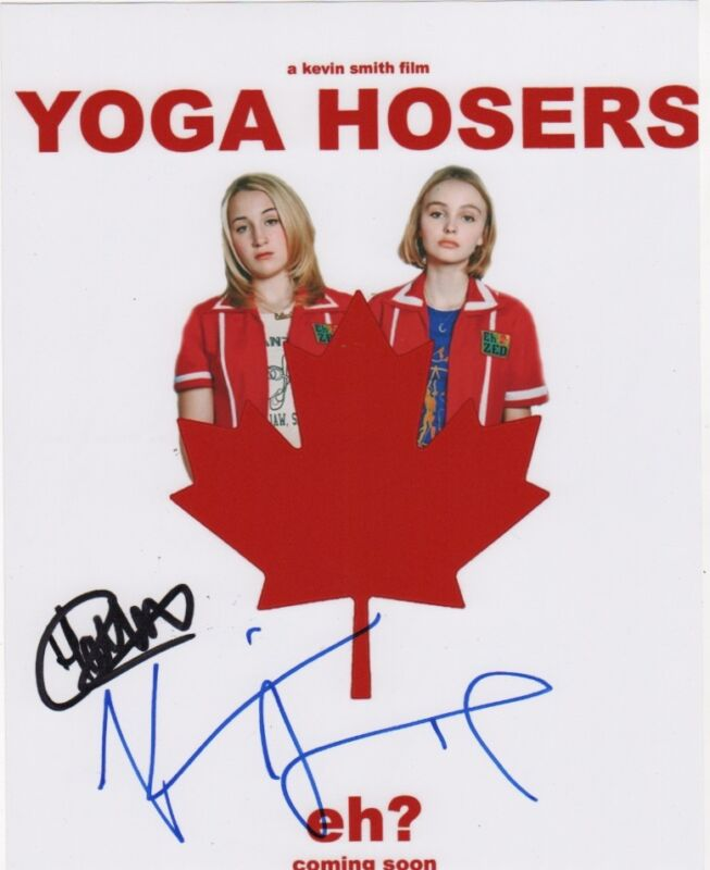 Harley Quinn Smith Kevin Smith Yoga Hosers Autographed Signed 8x10 Photo COA