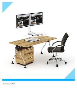 "Dual Display Adjustable Standing Desk 13''-30"" monitor DWS03-T02 Girraween Parramatta Area Preview"