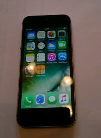 iPhone 5S 16GB on O2 for Quick sale