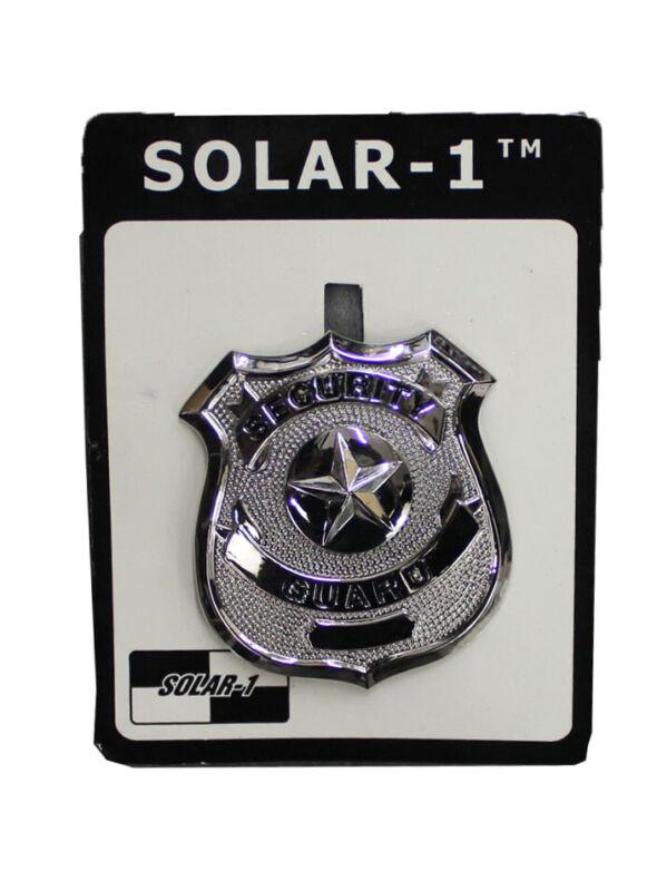 Silver Security Guard Badge (Nickel) by Solar 1