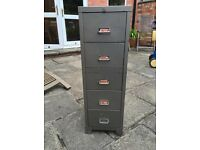 Metal Office Filing Cabinet 5 Draws