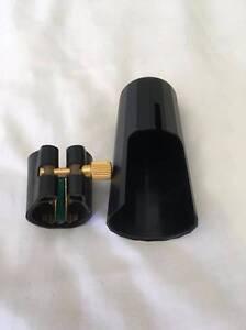 Van Doren Alto Saxophone Leather Ligature & Cap & FREE Reed Case Mango Hill Pine Rivers Area Preview