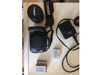 Canon 600D + 18-55mm lens (Great Condition)