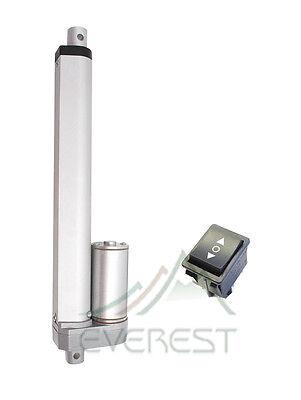 4 Inch Heavy Duty Linear Actuator Stroke 225 Pound Max Lift 12v Polarity Switch
